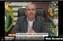"Photo of Ministro Murillo: ""Hemos capturado a cuatro médicos cubanos"" en Bolivia"