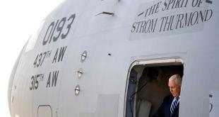 Pence trabaja para tranquilizar a los aliados kurdos en un viaje sorpresa por Irak 10