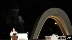 Poseer armas atómicas es inmoral, dice el papa en Hiroshima 10