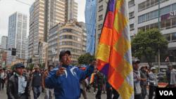 Presidenta interina de Bolivia promete nuevas elecciones 2