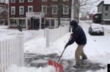 Tormenta invernal trae intensa nevada a EE.UU. 12