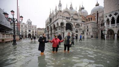 """Venecia """"de rodillas"""" en 2da peor inundación en su historia 4"""