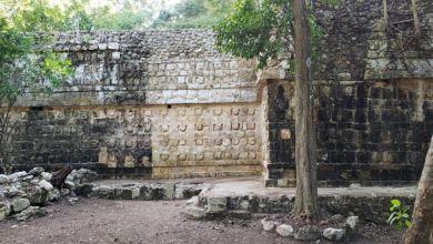 Descubren palacio usado por la élite maya en zona arqueológica del este mexicano 4