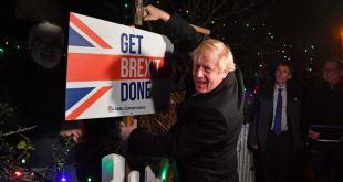 Johnson promete concluir votación del Brexit en Parlamento para Navidad 13