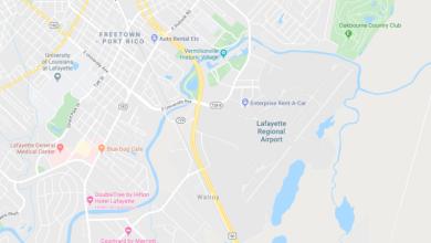 Mueren cinco personas en un accidente aéreo en Lafayette 3