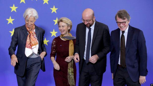 Nuevo equipo de líderes asume el mando de la UE 1