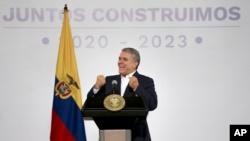 El presidente colombiano, Iván Duque, se ha visto obligado a convocar una reunión con organizaciones civiles para tratar los temas por los que protesta la ciudadanía.
