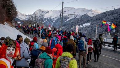 Davos fortalece medidas de seguridad ante protestas 5