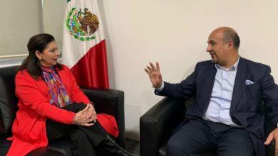 Photo of Embajadora expulsada de Bolivia llega a México