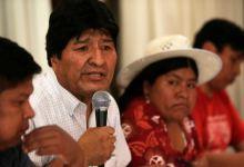 Evo Morales anuncia el binomio presidencial del MAS para elecciones 5