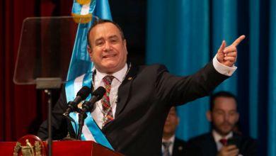 Giammattei juramenta como nuevo presidente de Guatemala 2