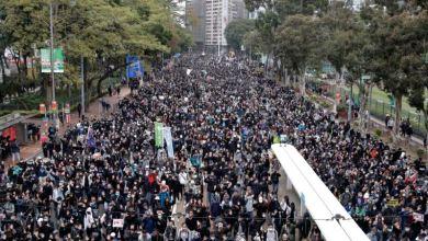 Hong Kong: Más marchas y violencia en primer día de 2020 3