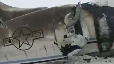 Talibanes informan que avión militar estadounidense se estrelló en Afganistán 6