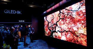 Televisores gigantes y dispositivos futuristas en feria tecnológica 5