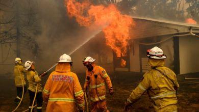 Tres bomberos estadounidenses mueren en accidente aéreo en Australia 3