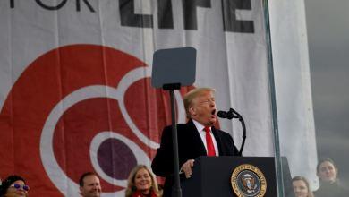 """Trump: Siento un """"honor profundo"""" al ser el primer presidente en asistir a Marcha por la Vida 8"""