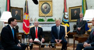 Trump y primer ministro israelí anuncian esperado plan de paz para Medio Oriente 13
