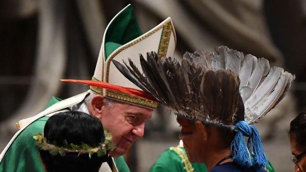 El papa denuncia injusticias en la Amazonia y evita pronunciarse sobre curas casados 1