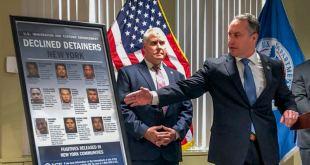 Gobierno pide a jueces obligar a NY a cooperar con ICE 7