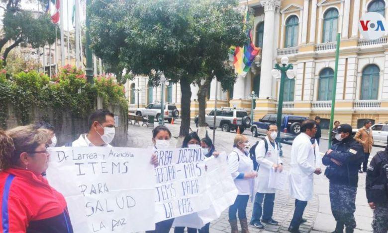 Bolivia: Médicos piden más equipo y protección tras decretar cuarentena total