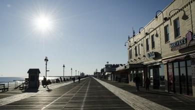 Ocean City en Nueva Jersey, las playas cerradas por la pandemia