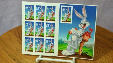U.S. Postal Service anuncia nuevas estampillas postales por el 80° aniversario de Bugs Bunny 3