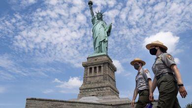 Estatua de La Libertad reabre sus puertas pero apenas recibe visitantes 4
