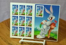 Photo of Servicio postal lanzó las estampillas de Bugs Bunny a nivel nacional