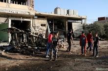 Los ataques aéreos en zonas tomadas por los rebeldes en Siria son muy frecuentes.
