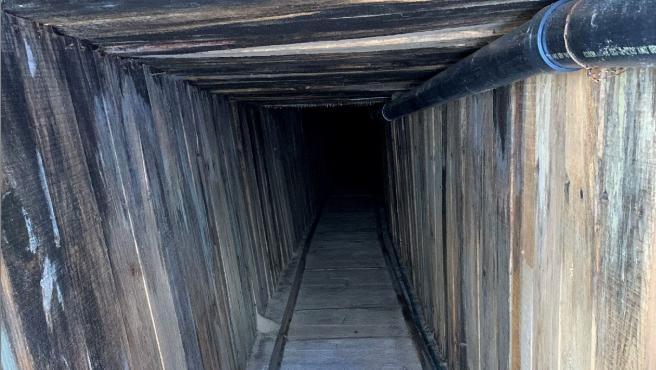 """Descubren el túnel """"más sofisticado de la historia"""" entre México y Arizona 1"""