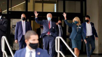Joe Biden votó por anticipado a pocos días de las elecciones de Estados Unidos 5