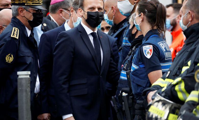 Macron ordena reforzar seguridad de iglesias y escuelas en Francia tras atentado terrorista 1