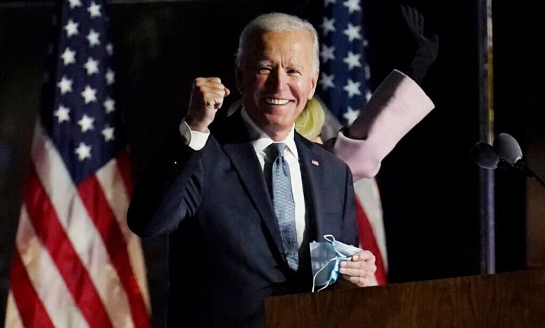 Joe Biden podría declararse esta tarde como vencedor de las elecciones 1