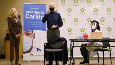 Presidente electo Joe Biden recibió vacuna contra el coronavirus 5