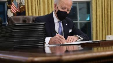 Biden firmó una orden que reincorpora a Estados Unidos al Acuerdo de París 2