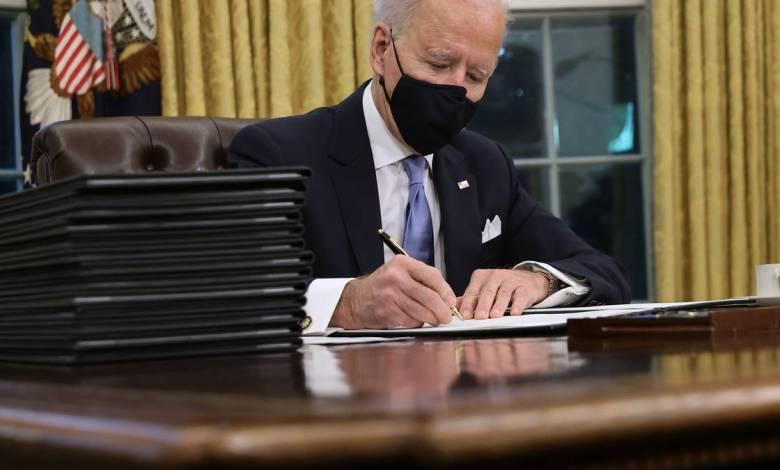 Biden firmó una orden que reincorpora a Estados Unidos al Acuerdo de París 1