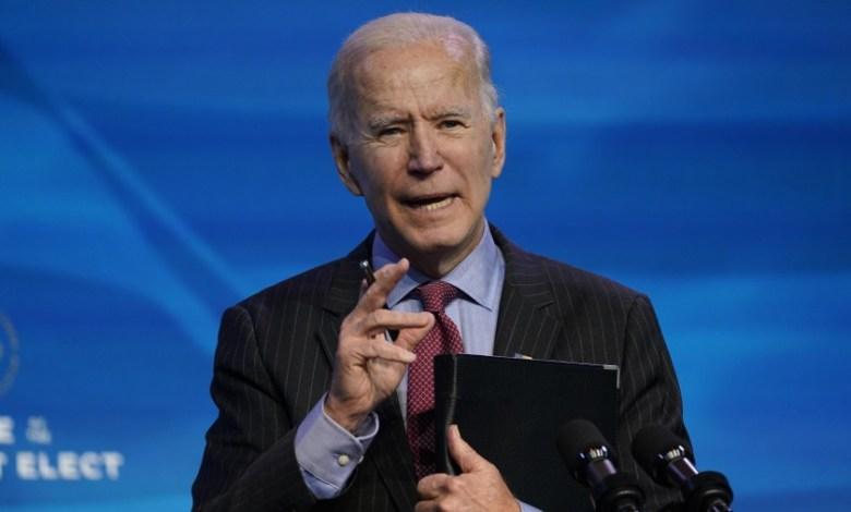 Biden presiona al Congreso para aprobar plan de US$ 1.9 billones para enfrentar la pandemia 1