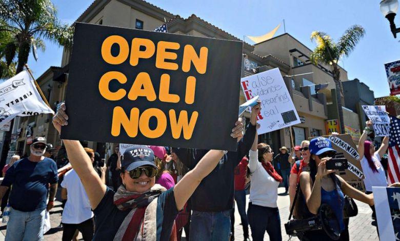 California pone fin a cuarentena estricta y permite reapertura de negocios 1
