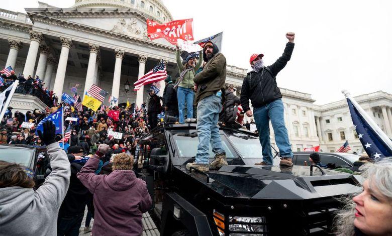 Emergencia en el Congreso de Estados Unidos tras irrupción de manifestantes. 1