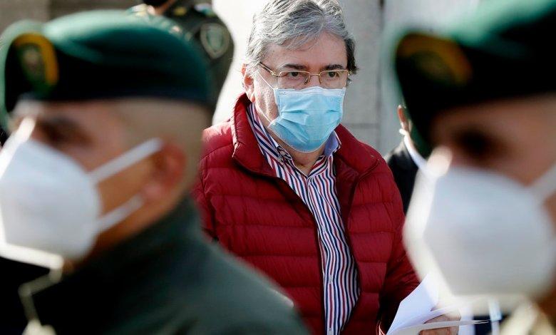 Ministro de Defensa de Colombia muere a causa del coronavirus 1