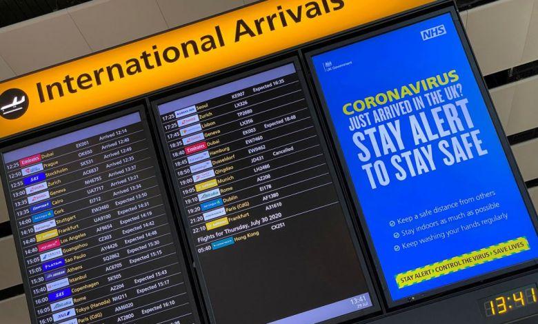 Reino Unido prohíbe los vuelos desde Sudamérica por nueva cepa hallada en Brasil 1