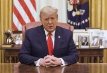 Tras la aprobación del 'impeachment', Trump condenó la violencia en el Capitolio 6