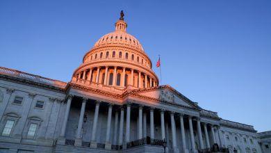 """Policía advierte que radicales estarían planeando """"volar"""" el Capitolio durante discurso de Biden 2"""
