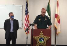 Sheriff Gualtieri informa de los detalles del hack que comprometió la seguridad de una planta de agua en Oldsmar, Florida el viernes 6 de Febrero, 2021.