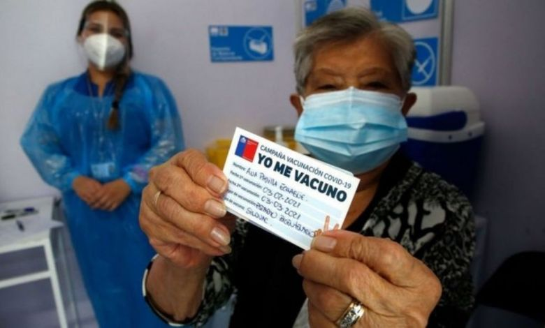 ¿Cuál es el país que está vacunando más rápidamente a su población? 1