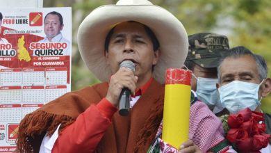 Perú: Candidato de extrema izquierda se perfila como favorito a ganar la presidencia 2