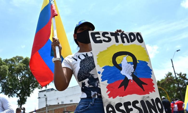 Protestas en Colombia dejaron 26 fallecidos y 548 desaparecidos en 10 días 1