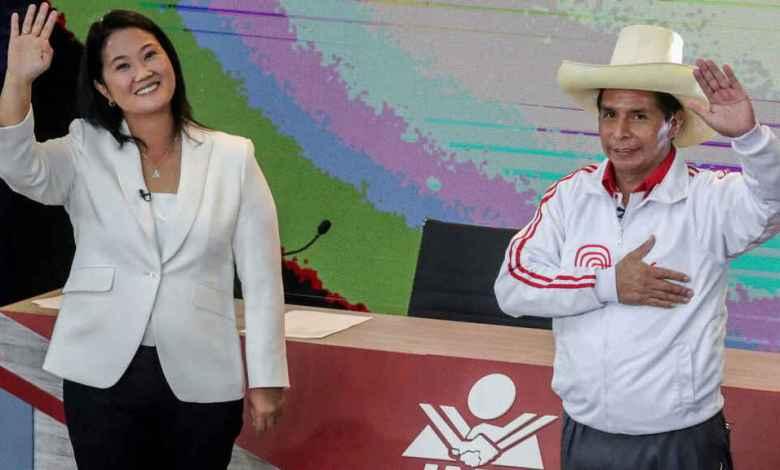Pedro Castillo y Keiko Fujimori pelean voto a voto la presidencia de Perú 1