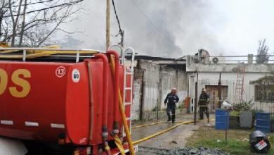 Photo of Bombero herido en Ituzaingó
