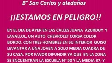 Photo of Isidro Casanova: Vecinos se previenen luego de un hecho de inseguridad